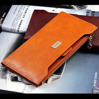 2013 NEW fashion leather long wallets women wallet ladies' purse bag handbag card pack WBG0515