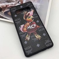MCM Fashion iPhone Samsung Phone Cover Case For iphone 6 6s 6plus 6s-plus 7 7plus iPhone8 iPhone X