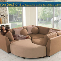 Four Piece Sectional Puzzle Sofa - Two Color Choices!! - New!!!!!