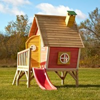 Swing-N-Slide Hide and Slide Playhouse | www.hayneedle.com