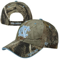 47 Brand North Carolina Tar Heels :UNC: Frost Adjustable Hat - Realtree Camo