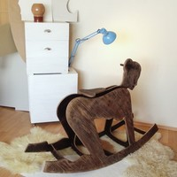 Pony girl rocker | Sexy home and decor by Peter Jakubik