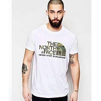 The North Face 2018 Men's Trendy Short Sleeve T-Shirt F-CN-CFPFGYS white