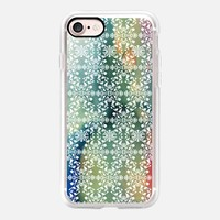 Flower lace_peacock iPhone 7 Case by Kanika Mathur | Casetify