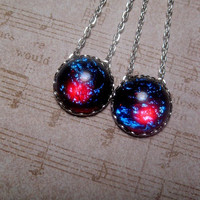 Fire Opal Necklace - Dragon Fire Opal - Dragons Breath - Mexican Opal - Custom Length Necklace
