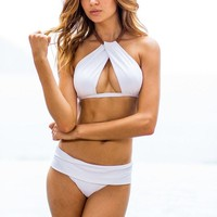 Sauvage Venezia Twist - White Bikini Set