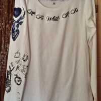 Louis Tomlinson One Direction Tattoo Shirt by OneDirectionLovers10