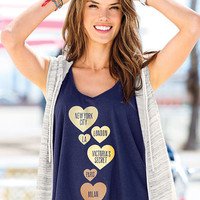 Graphic High-low Tank - Victoria's Secret