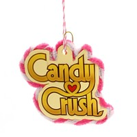 Holiday Ornaments CANDY CRUSH LOGO ORNAMENT Saga Game Christmas 4057396