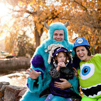 Made To Order Kids Mike Wazowski One Eyed Monster Halloween Costume