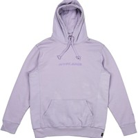 FRENCH TERRY TONAL HOODIE (LILAC PURPLE)