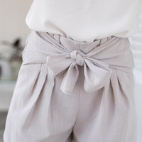 Obessed Gray High Waisted Shorts