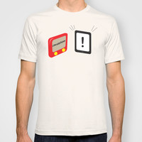 Tablet father T-shirt by Tony Vazquez