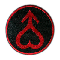 Sailor Mars Symbol Patch