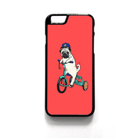 Pug Bicycle For Iphone 4/4S Iphone 5/5S/5C Iphone 6/6S/6S Plus/6 Plus Phone case ZG