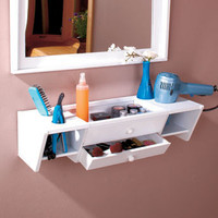 Ready-to-Go Vanity Shelves