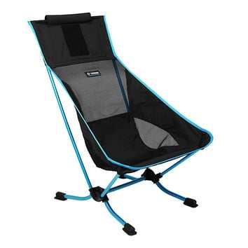Helinox Beach Chair Lightweight, Lower-Profile, Compact, Collapsible Camping Chair Black
