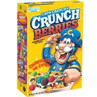 Cap'n Crunch Crunch Berries Breakfast Cereal - 18.7oz - Quaker Oats