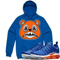 ORANGE BAWS Royal Blue Sneaker Hoodie - Vapor Max Plus Game Royal