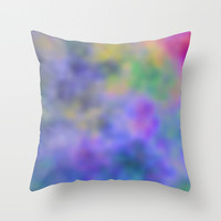 Blur Throw Pillow by Christy Leigh