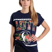 A Day To Remember - Floral Navy - T-Shirt