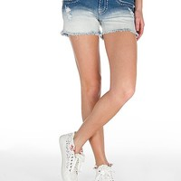 Miss Me Bleach Dip Dye Stretch Short
