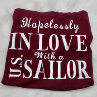 Hopelessly in love with a U.S. Sailor