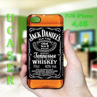 Jack Daniels - Photo on Hard Cover for iPhone 4,4S