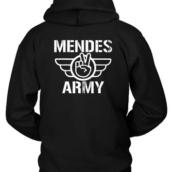 Shawn Mendes Army Logo Hoodie Two Sided