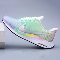 Hipgirls Nike Zoom Pegasus 35 Turbo Women's Mesh Flywire Ultra-light Breathable Cushioning Running Shoes