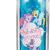 Vandor 42075 My Little Pony Friendship 18 oz Tritan Water Bottle, Multicolor