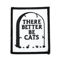There Better Be Cats Patch