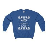 Ugly Christmas Sweater - Are You Serious Clark Sweatshirt