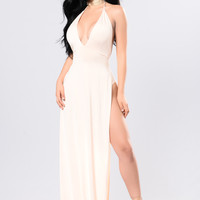 Alexandra Dress - Champagne