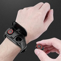 Bluetooth Health Monitoring Smart Watch with Bluetooth Headphones