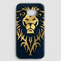 World Of Warcraft Alliance Gold Logo Samsung Galaxy S8 Plus Case | casescraft