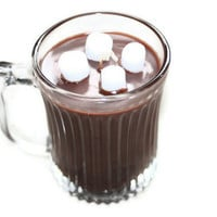 Hot Cocoa Mug Cup Candle