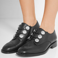Alexander Wang - Matilda embellished leather brogues