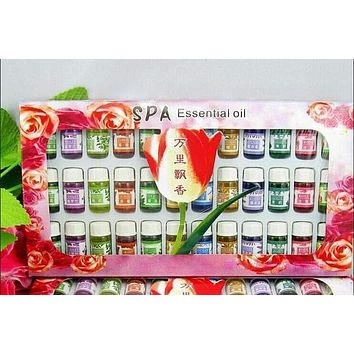 Aromatherapy Essential Oil 12 Kinds 3ML Fragrance Natural Spa Oil