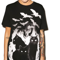 Kill Star Purrgatory Tee Black