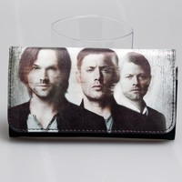 supernatural women  long purse join the hunt Black wallet DFT-1803