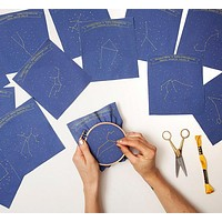 constellation embroidery kit