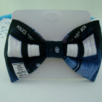 Doctor Who TARDIS Clip On Bowtie
