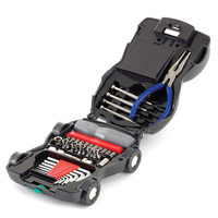34-PIECE CAR TOOL KIT WITH LIGHT