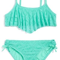 Girl's Gossip Girl Two-Piece Swimsuit ,