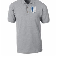 ATTACK ON TITAN embroidery hat - Polo Shirt