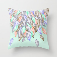 CRAYON LOVE  - A Different Nature Throw Pillow by Jacqueline Maldonado | Society6