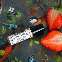 Dream Child ™ perfume oil. Strawberries and Champagne. Melodie Perfumes