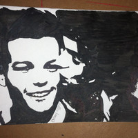 One Direction Drawing: Larry