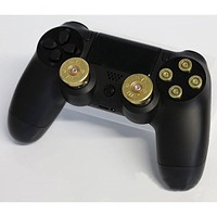 Thumbsticks Bullet Buttons and Bullet ABXY Buttons Set for PS4 DualShock 4 Wireless Controller PS4 Controller